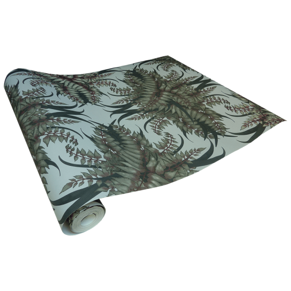 Fern Forest Wallpaper -Bone