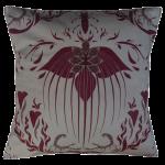 Damask Of Satan Cushion ~ in REDRUM