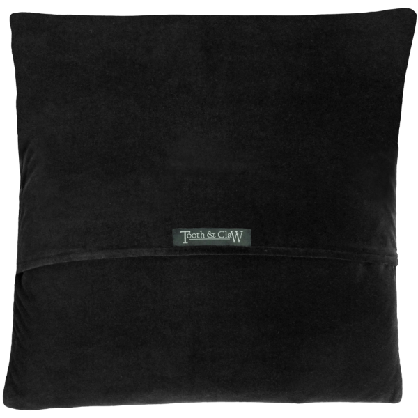 Reverse Of Cushion - Black velvet