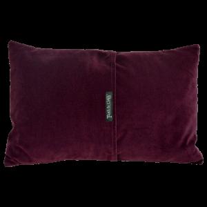 Reverse of Boudoir Cushion ~ Wine Velvet