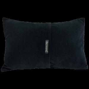 Reverse of Boudoir Cushion ~ Black Velvet