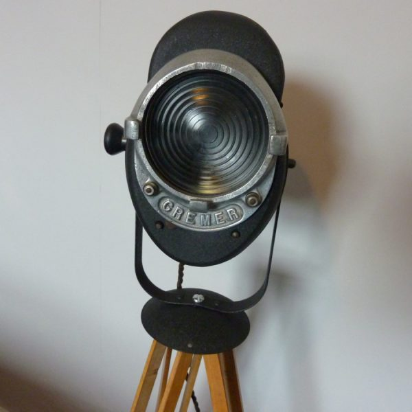 Vintage Studio Light on Tripod by Cremer