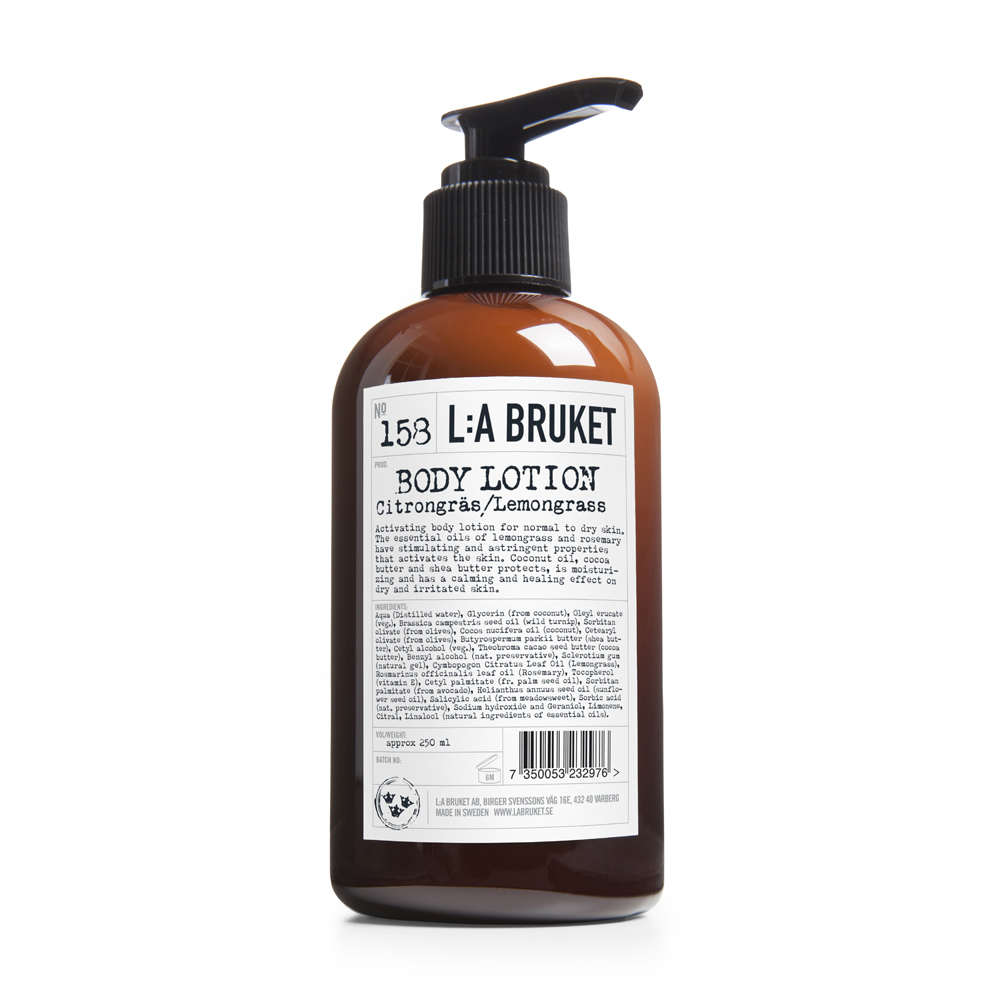 LA Bruket Body Lotion Lemongrass