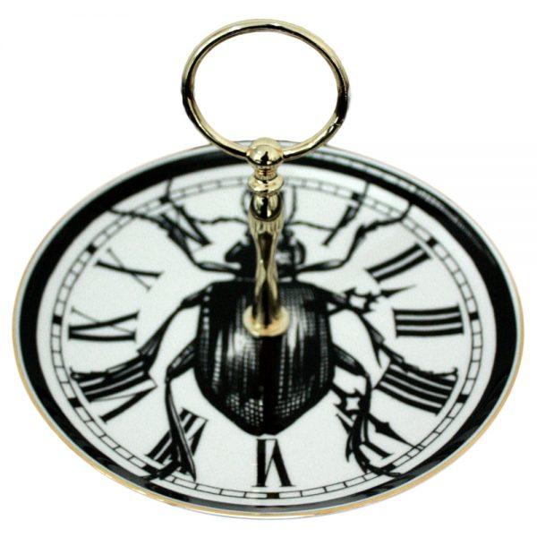 Rory Dobner Beetle Clock Cake Stand