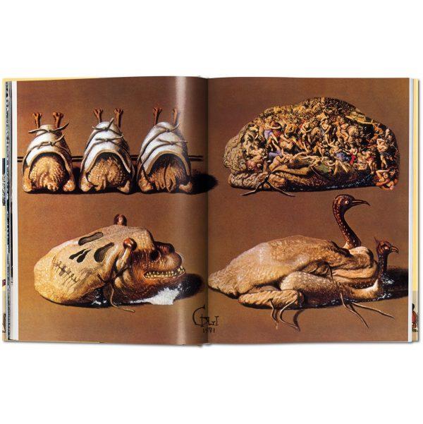 Dali cookbook Les dîners de Gala-illustration2