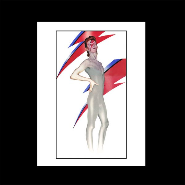 David Bowie Aladdin Sane full length print