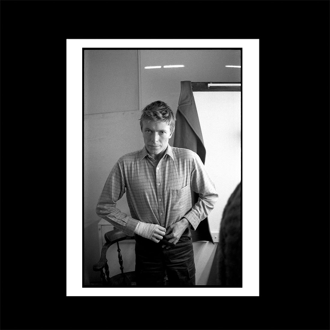 David Bowie Lodger dressing room print