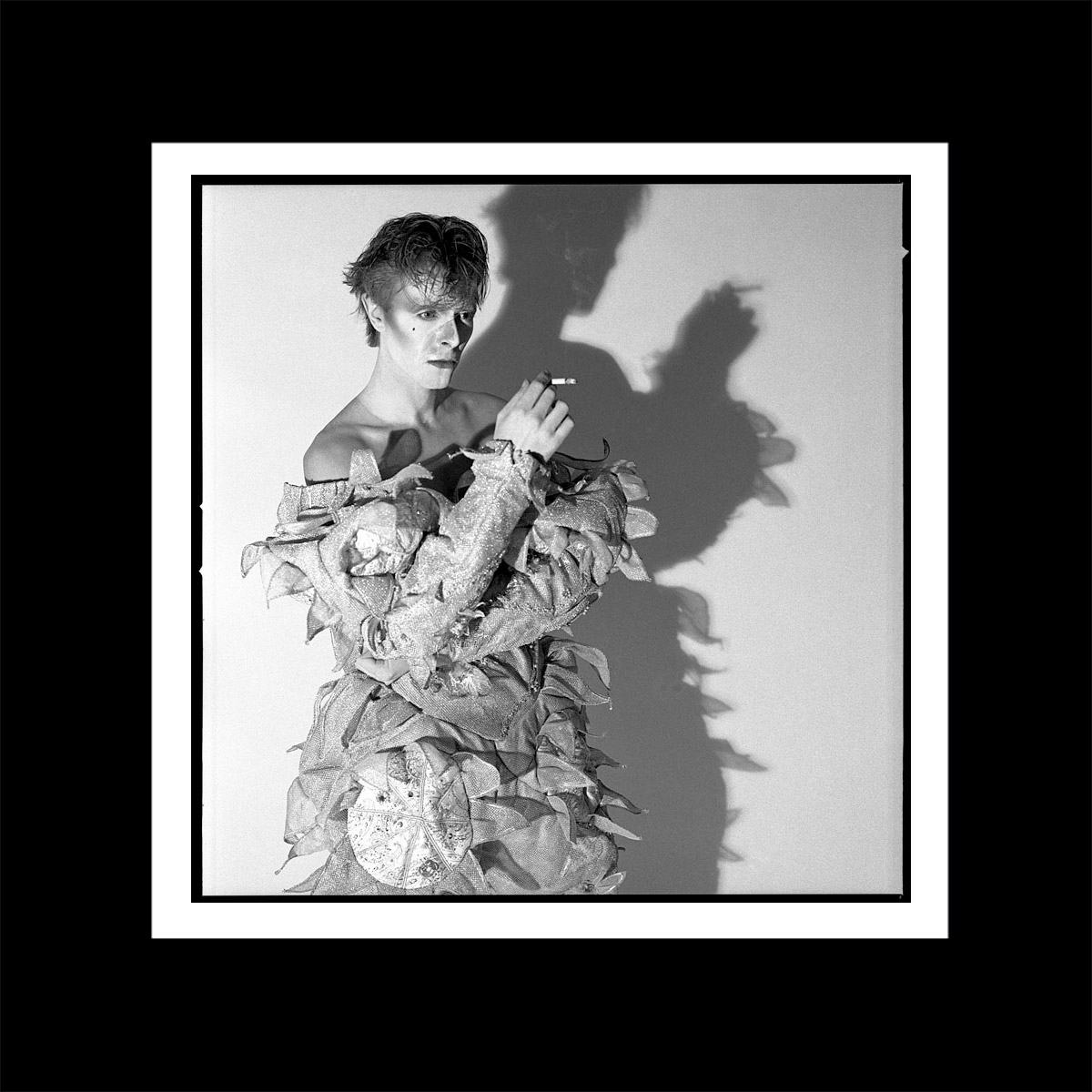David Bowie Smoking Scary Monsters print version 1