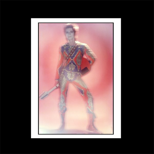 David Bowie Starman outfit print version 2