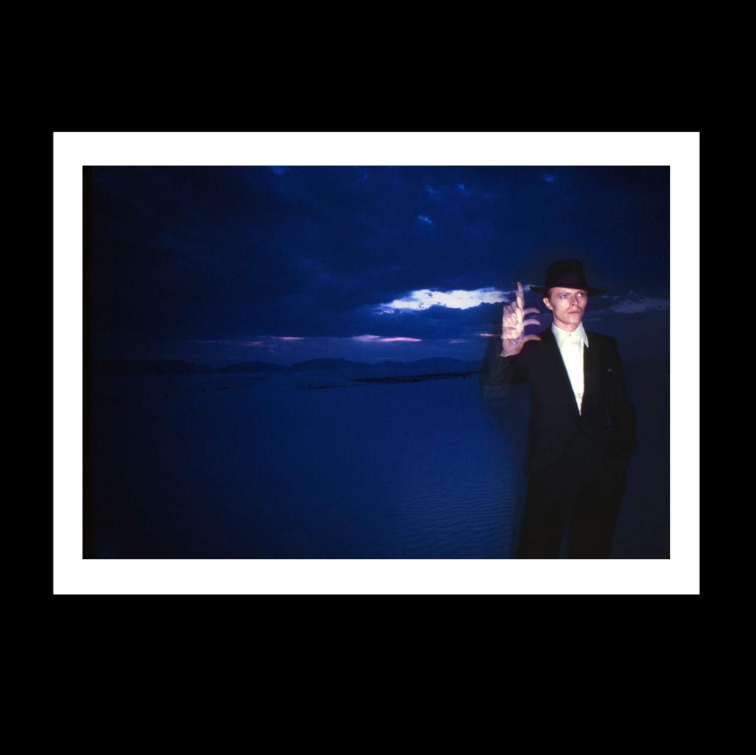 David Bowie in the desert print version 2