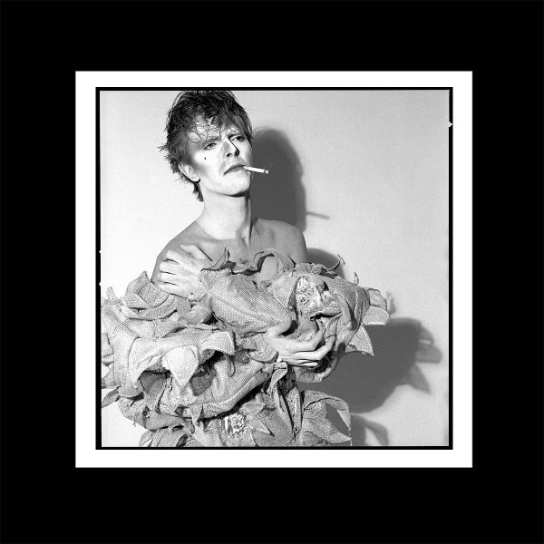 David Bowie smoking Scary Monsters print