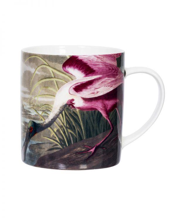 Pink Spoonbill Mug Gift Boxed