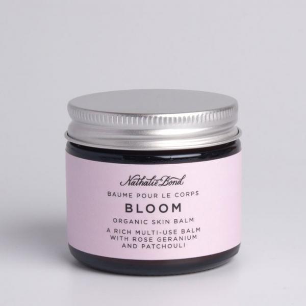 organic skin balm rose geranium patchouli