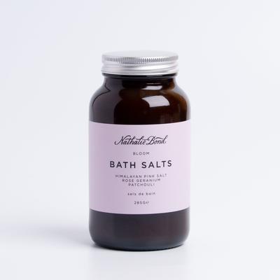 Organic rose geranium & patchouli bath salts