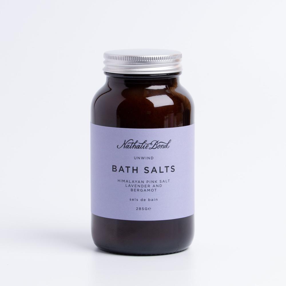 Lavender & bergamot bath salts