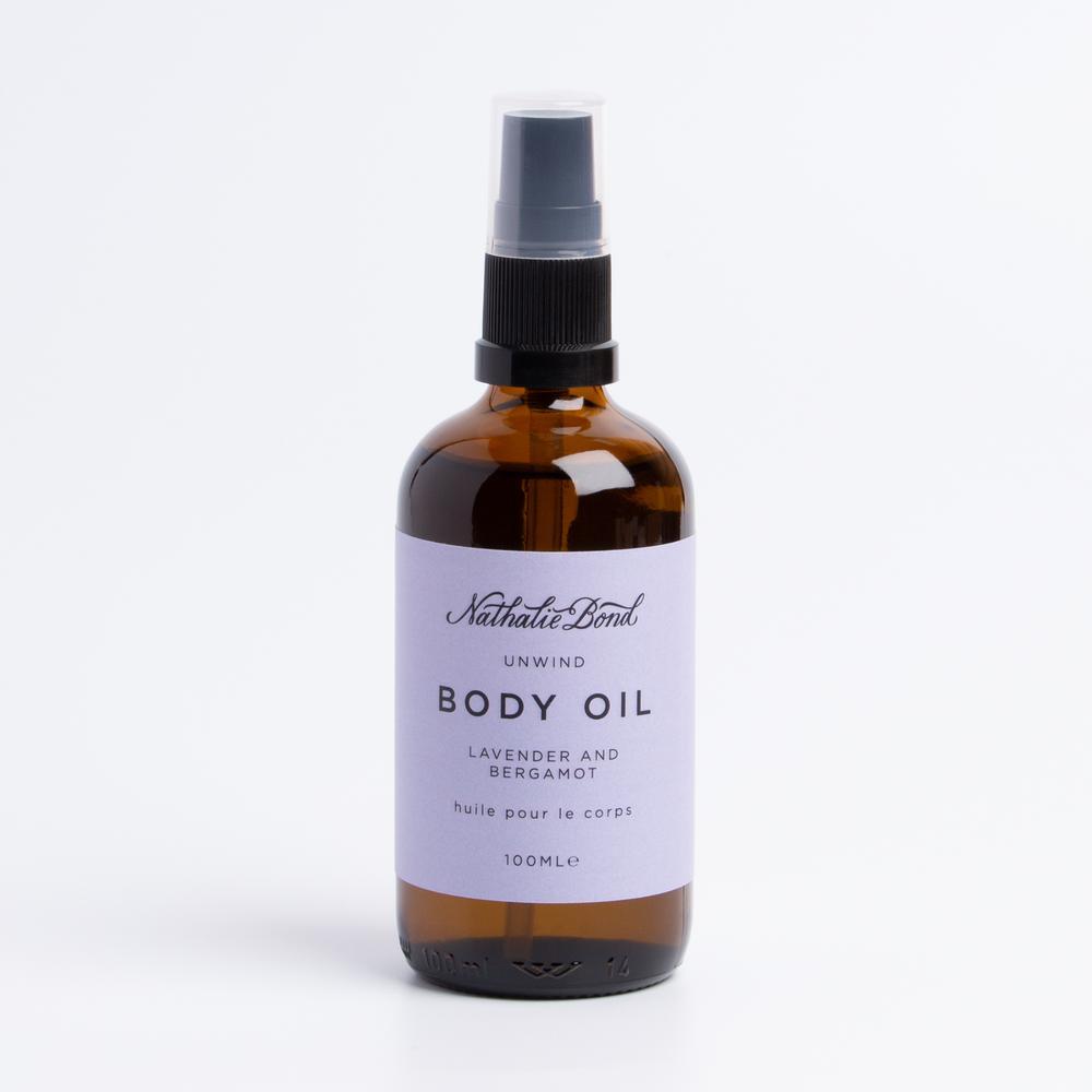 Organic vegan body oil