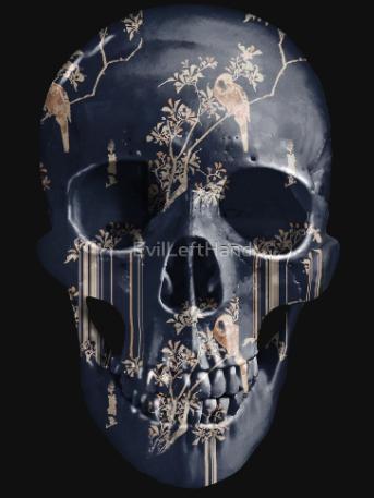 evil-left-hand-skull-design-tear-garden-black-gold