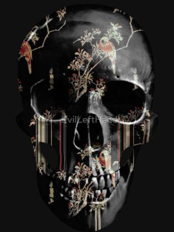 evil-left-hand-tear-garden-skull-black