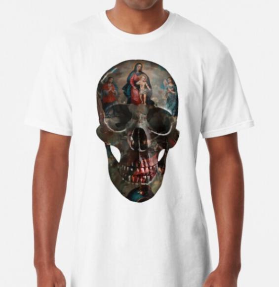 painted-skull-unisex-tshirt-religious-white