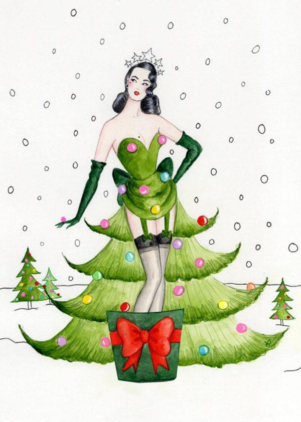 dita-von-trees-glittery-christmas-card-andrea-kett