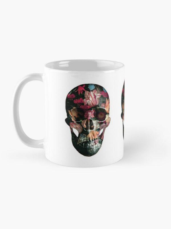 evil-left-hand-red-floral-skull-mug