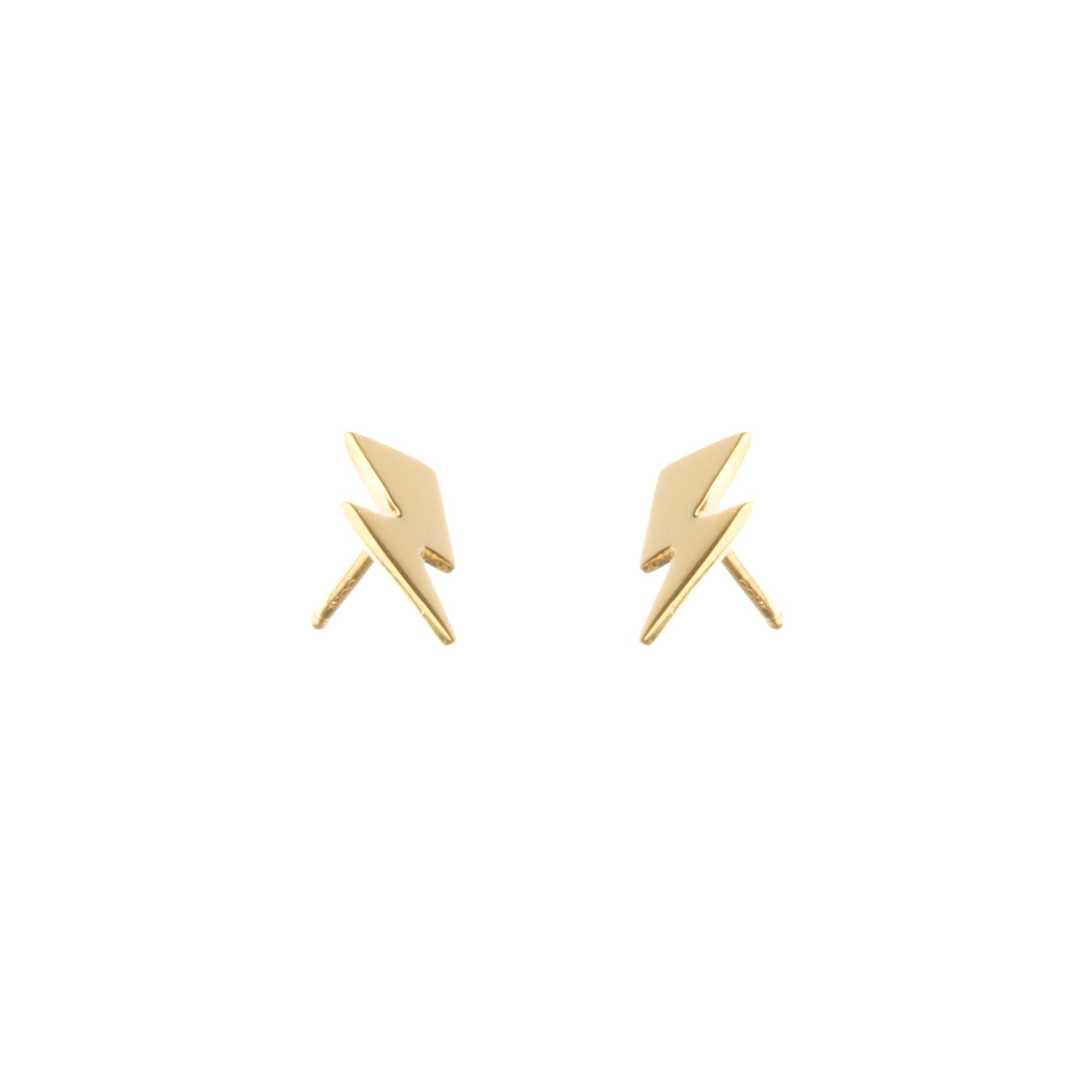 BOWIE-flash-stud-earrings-gold-vermeil