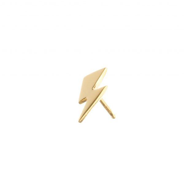 bowie-flash-stud-earring-gold-vermeil-single