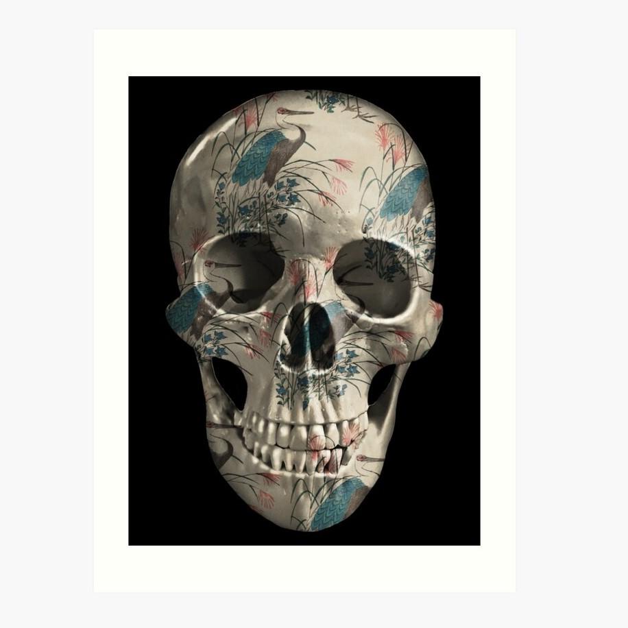 evil-left-hand-herons-skull-art-print