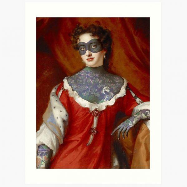 evil-left-hand-masked-woman-art-print