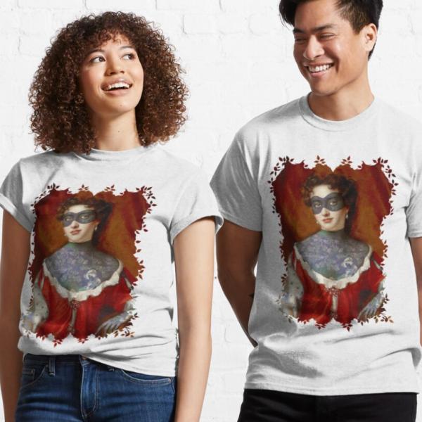 evil-left-hand-masked-woman-tshirt