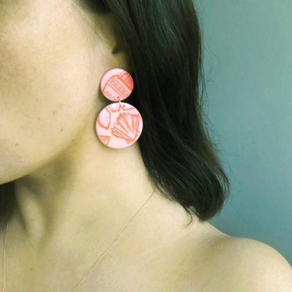 studio-eris-ida-earrings-positano-rose-orange