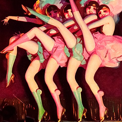 madame-treacle-can-can-dancers-birthday-card