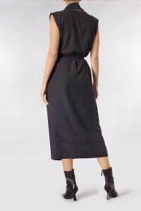 Meem-label-arron-dress-textured-grey