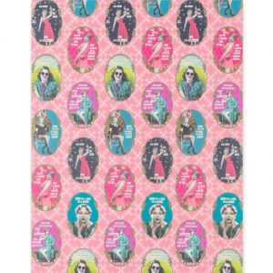 darling-divas-pink-wrapping-paper