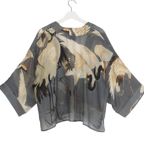 one-hundred-stars-oriental-stork-kimono-slate-grey