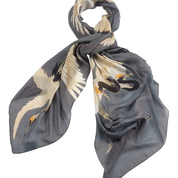 one-hundred-stars-oriental-stork-scarf-slate-grey