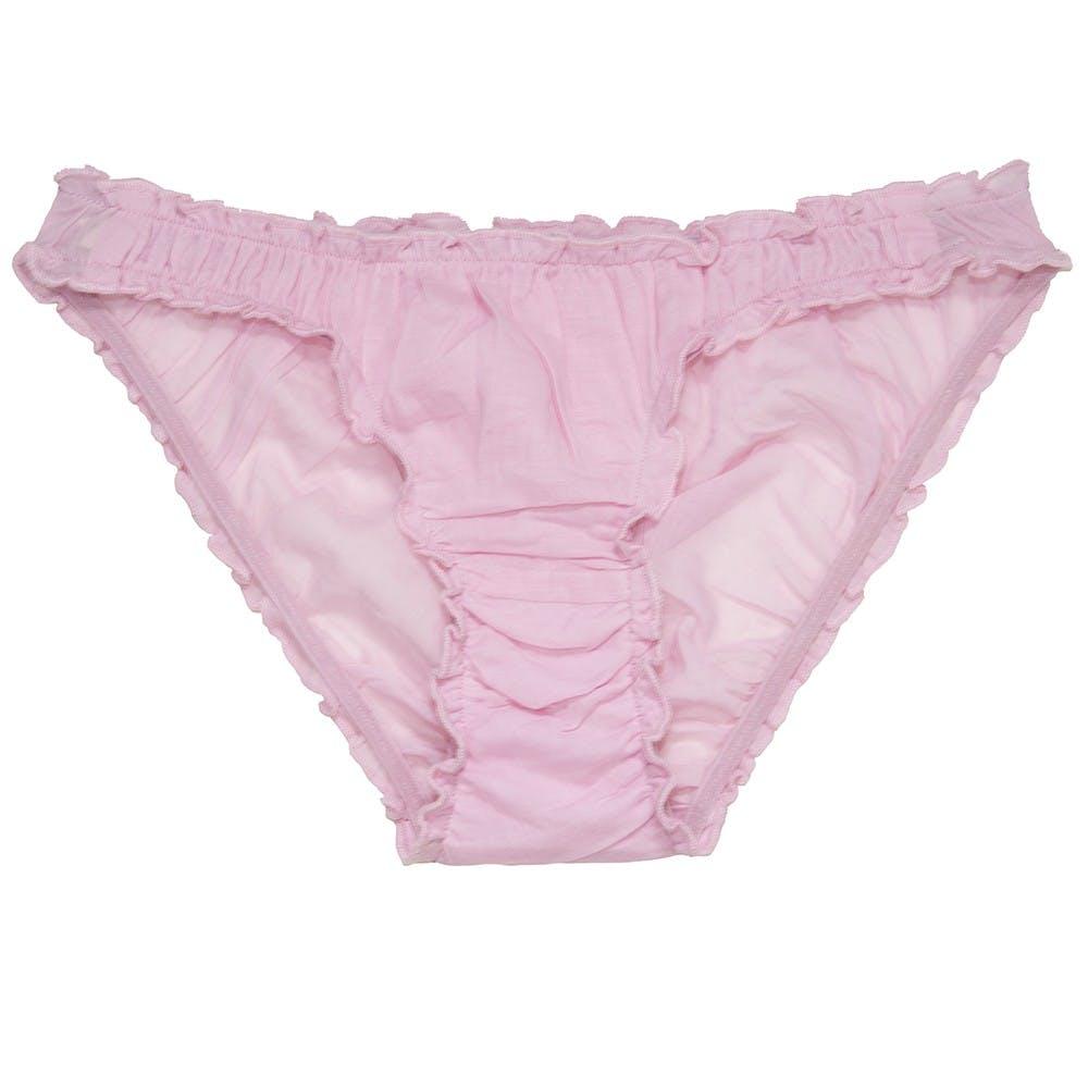 germaine-des-pres-organic-cotton-frill-panties-rose-clair