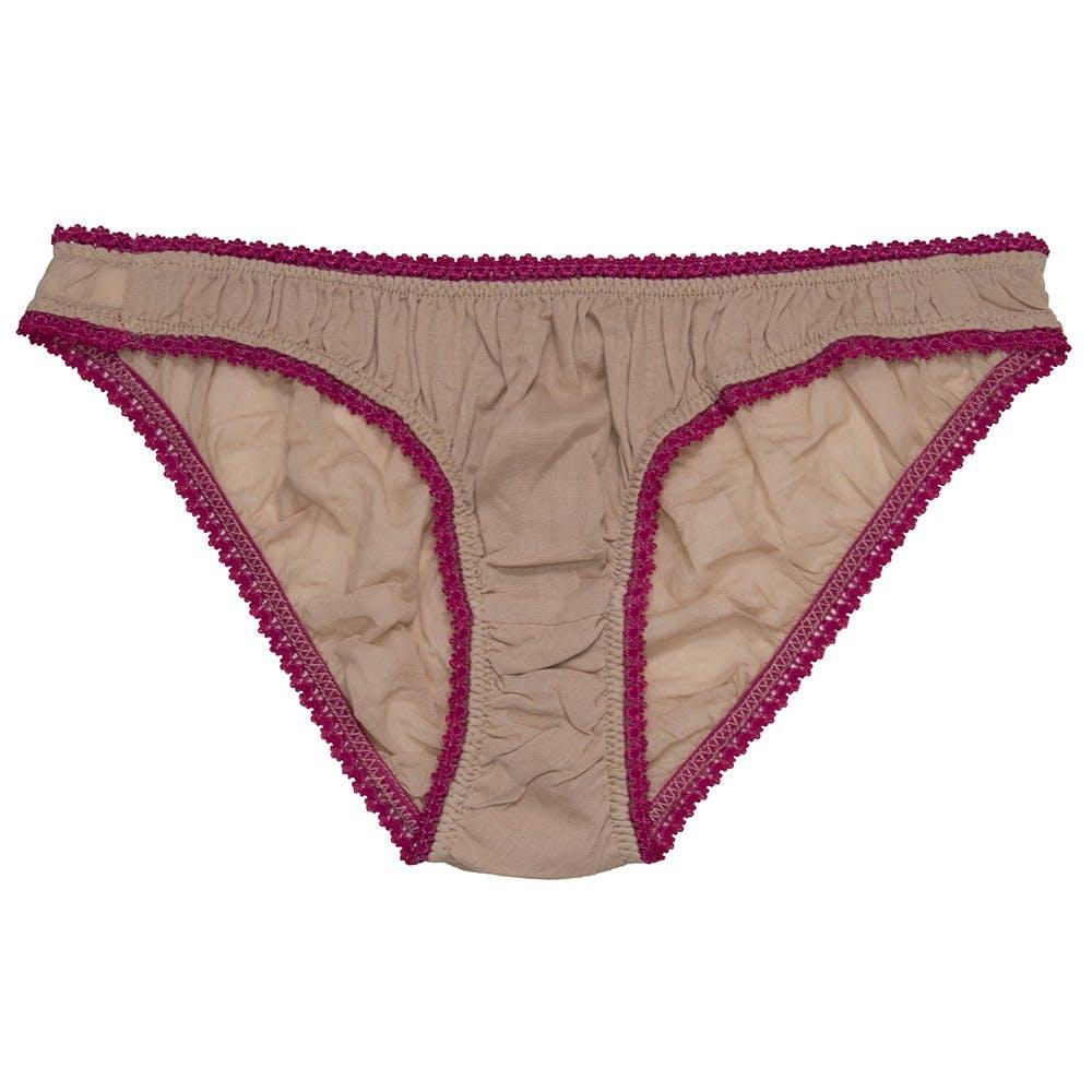 germaine-des-pres-organic-cotton-panties-nude-fuchsia