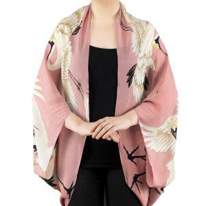 one-hundred-stars-oriental-stork-shrug-pink